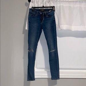 Sasha Super Skinny Lucky Brand Jeans